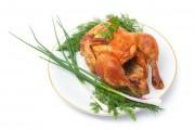 Запеченый подрощенный  цыпленок